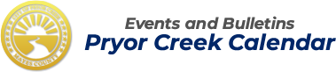 Pryor Creek Calendar